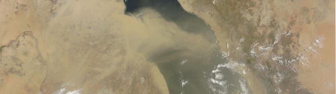 Morze Czerwone znikło w piasku