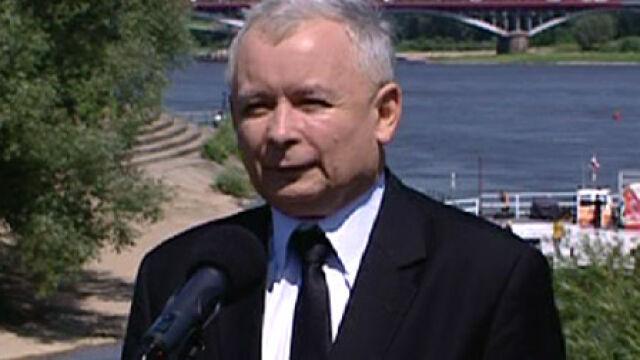 Kaczyński proponuje polityczne zawieszenie broni na Euro 2012