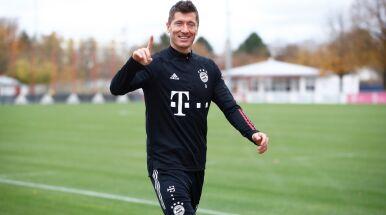 Lewandowski wraca do treningów.