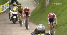 Atak Van der Poela na 17 km przed metą Wyścigu dookoła Flandrii