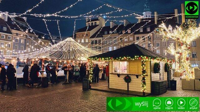 Iluminacje świąteczne na Waszych zdjęciach