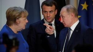 Putin: oddanie kontroli nad granicą w Donbasie grozi drugą Srebrenicą