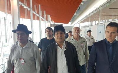 Evo Morales przybył do Argentyny. Ma otrzymać status uchodźcy