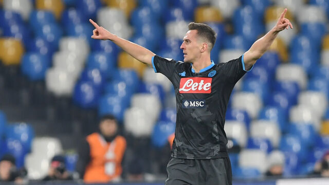 Świetny mecz i gol Milika. Koszmar Napoli trwa w najlepsze