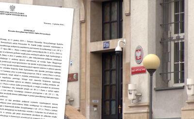 """Przemysław Radzik """"podjął czynności wyjaśniające"""" ws. sędziów z Katowic"""