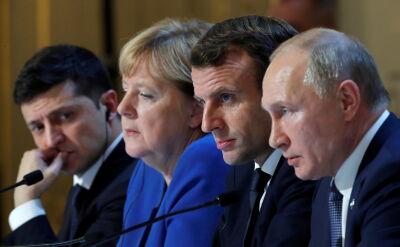 Zakończył się szczyt normandzkiej czwórki na temat sytuacji na Ukrainie