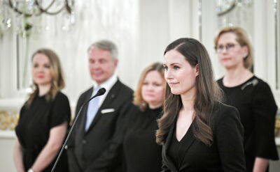 Sanna Marin odebrała nominację od prezydenta Finlandii
