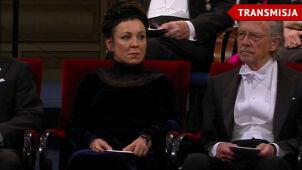 Olga Tokarczuk odbierze Nagrodę Nobla