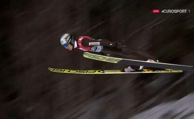 Skok Stefana Huli z kwalifikacji do konkursu w Lillehammer