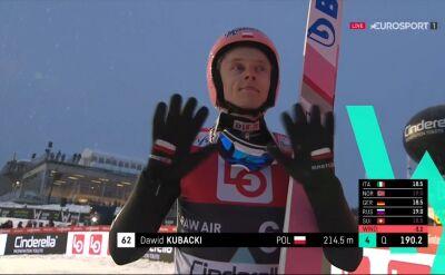 Skok Dawida Kubackiego z kwalifikacji do konkursu w Vikersund