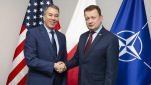 Podsekretarz obrony USA w Polsce. Wojsko amerykańskie
