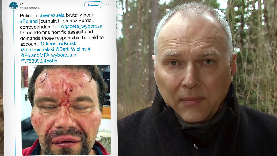 """Pobity polski dziennikarz zamierza wrócić do kraju. """"Atak na niego nie był przypadkowy"""""""