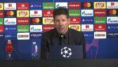 Diego Simeone po meczu Juventus - Atletico Madryt
