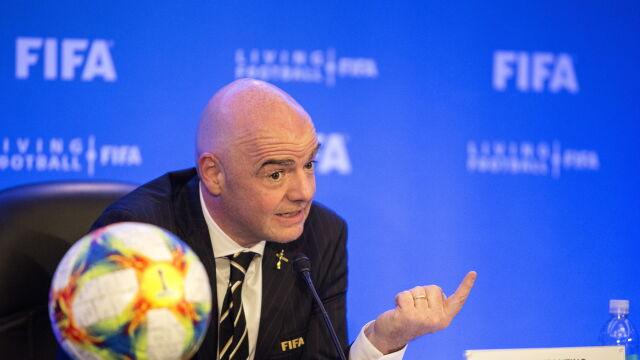 """FIFA chce większego mundialu już w 2022 roku. """"Jeśli tak się stanie, będzie fantastycznie"""""""