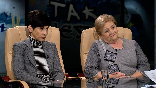 dr Aleksandra Piotrowska i Monika Staruch w Tak Jest