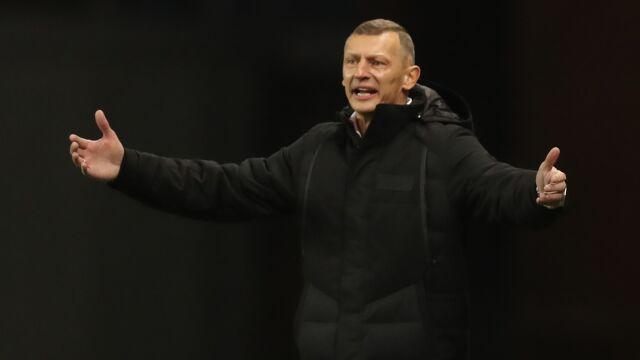 """Trener Lecha rozczarowany. """"Zawodowy piłkarz nie może się tak zachowywać"""""""