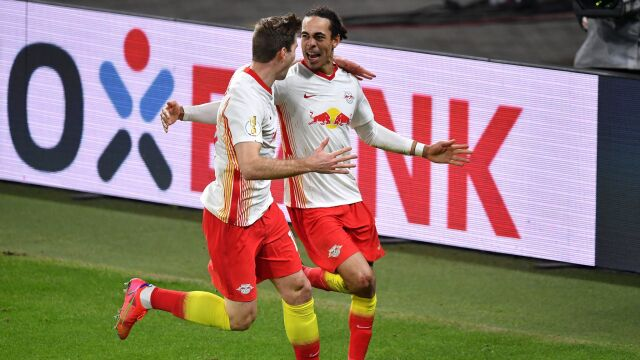 Niewykorzystany karny się zemścił. RB Lipsk w półfinale Pucharu Niemiec