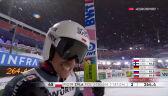 Skok Żyły z 2. serii konkursu na skoczni dużej w MŚ