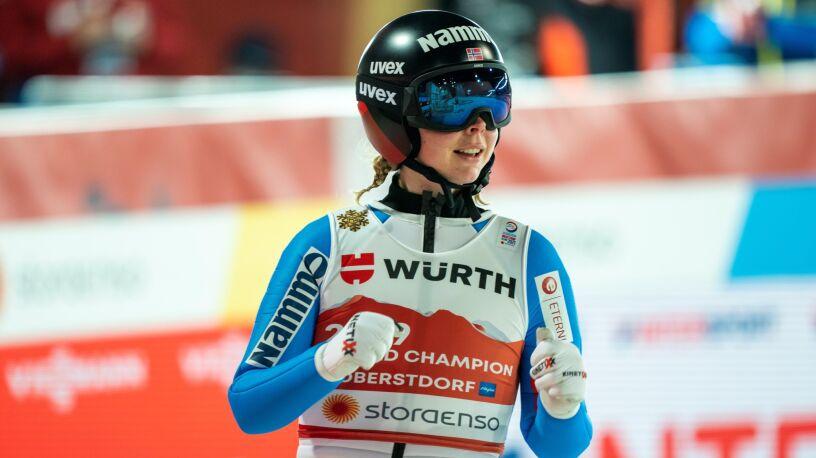 Norweżka z historycznym złotem mistrzostw świata. Obiecujący debiut młodej Polki