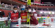 Skok Stocha z 2. serii konkursu drużynowego w MŚ