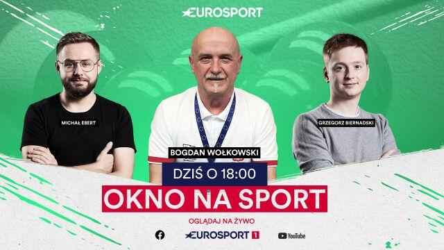 """""""Czarodziej"""" w """"Oknie na sport"""". Gościem Bogdan Wołkowski"""