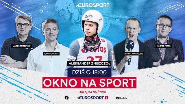 "Aleksander Zniszczoł o godz. 18 gościem ""Okna na sport"""