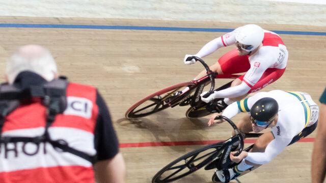 Studio eksperckie z mistrzostw świata w kolarstwie torowym. Polska doczekała się medalu