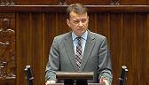 Błaszczak: Sienkiewicz powinien odejść