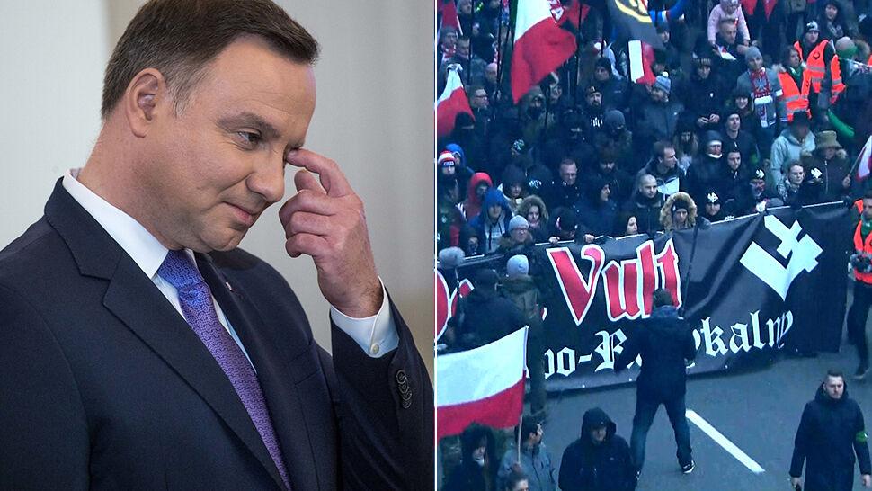 Rzecznik prezydenta: Andrzej Duda nie weźmie udziału w marszu 11 listopada