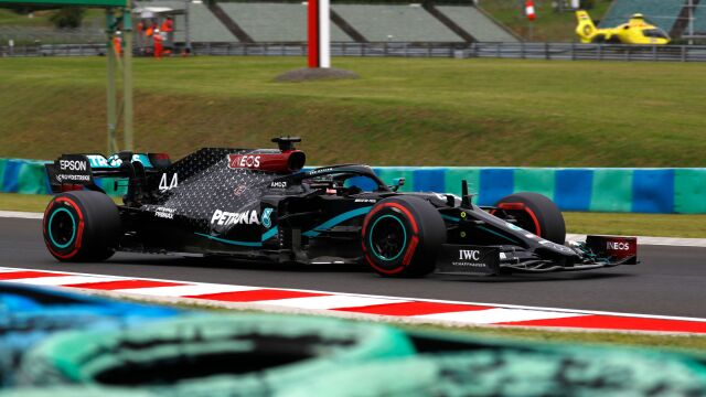 Hamilton trzy razy bił rekord toru. Siódme pole position Brytyjczyka na Węgrzech