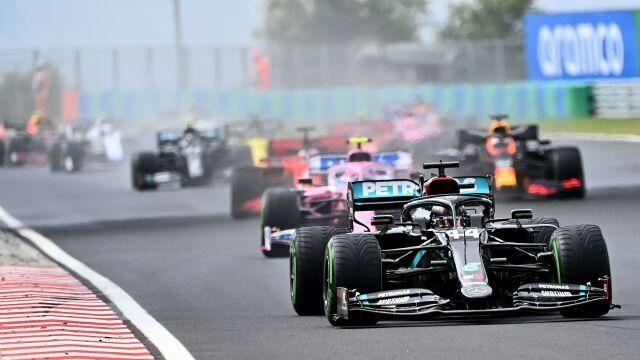 Dominacja Hamiltona w Grand Prix Węgier. To jednak nie on był bohaterem dnia