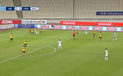 Skrót meczu AEK - PAOK w 35. kolejce ligi greckiej