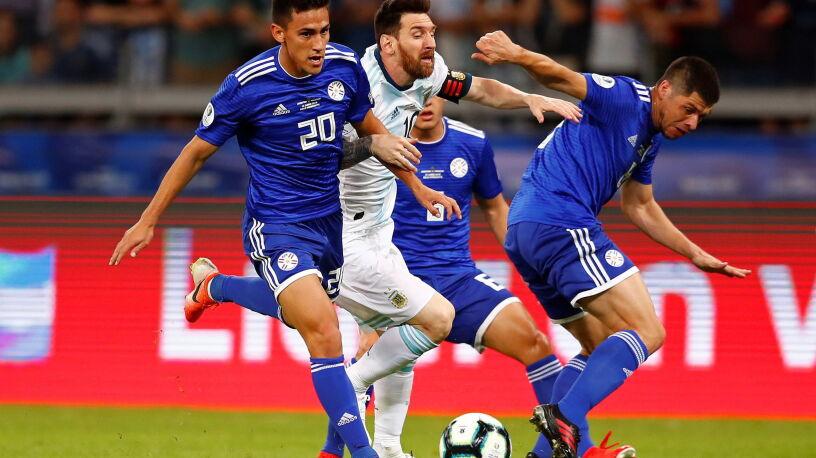 Znowu zawód. Argentyna z nożem na gardle w Copa America