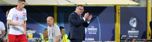 Trener młodych Polaków tonuje nastroje