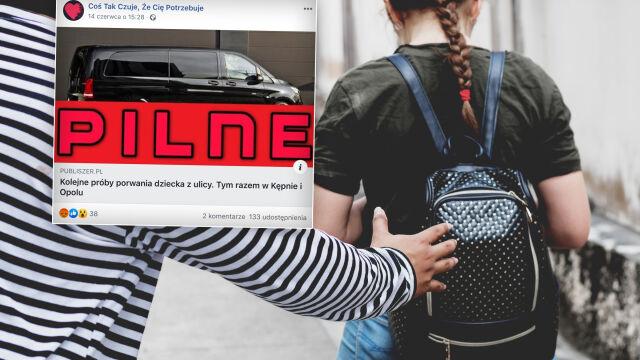 Czarna wołga 2.0, czyli fake newsy o porywaczach dzieci z białego busa