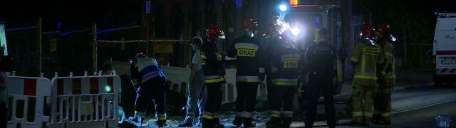 Wyciek gazu w Katowicach. Ewakuowano mieszkańców dwóch budynków