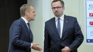 """Horała mówi  o Liechtensteinie  i Andorze, Tusk wytyka mu """"pewne nieścisłości"""""""