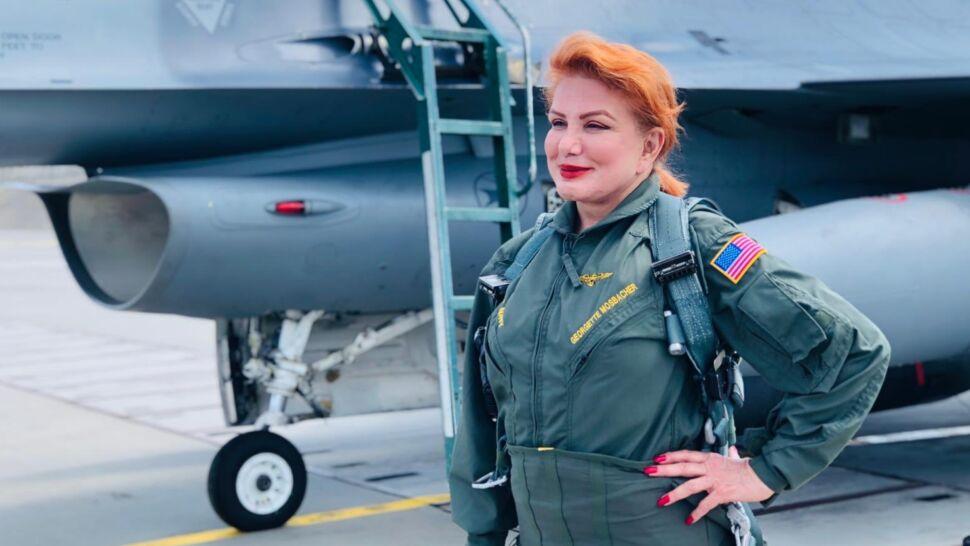 """""""Jedno z najbardziej emocjonujących przeżyć w moim życiu!"""". Ambasador Mosbacher w F-16"""