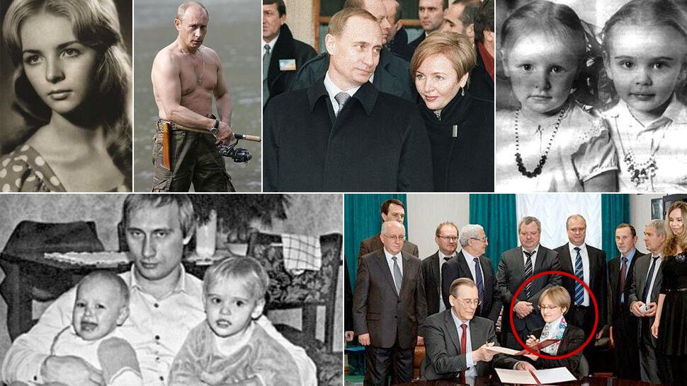 39b9f86d65626 Córki, rozwód z Ludmiłą i niemiecka książka. Ile wiadomo o rodzinie Putina?