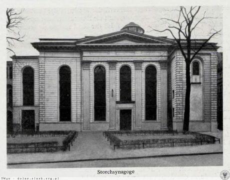 Synagoga tuż przed nocą kryształową