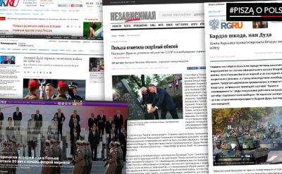 Media w Rosji o obchodach rocznicy wybuchu II wojny światowej