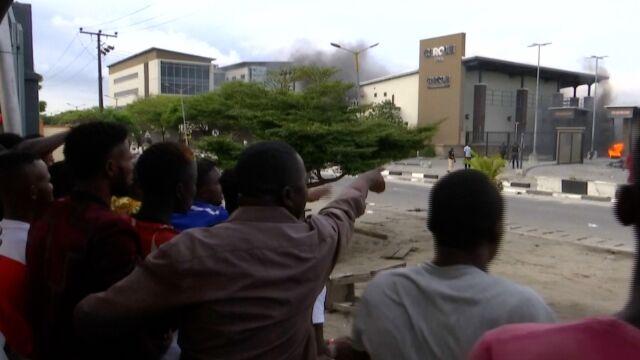 Przemoc w RPA wywołała protesty w Nigerii