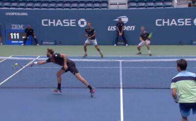 """Świetnie zagranie Granollersa. """"Najwyższy stopień tenisowego wtajemniczenia"""""""