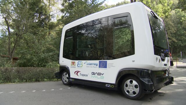 Busem bez kierowcy do gdańskiego zoo.