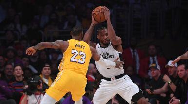 Derby Los Angeles dla Clippers. Świąteczny prezent Warriors