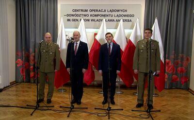 Macierewicz: trudne rozmowy w sprawie artylerii rakietowej Homar