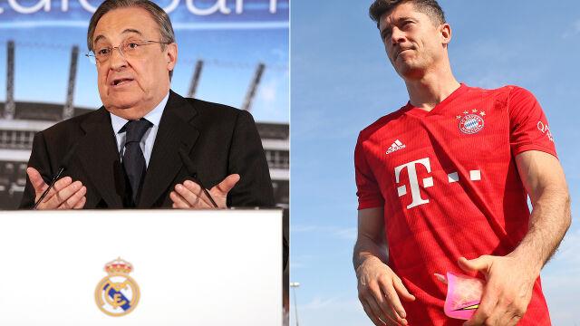 Prezes Realu przyznaje: Lewandowskiego chcieliśmy od kilku lat