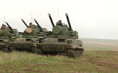 Ćwiczenia wojskowe ukraińskiej armii