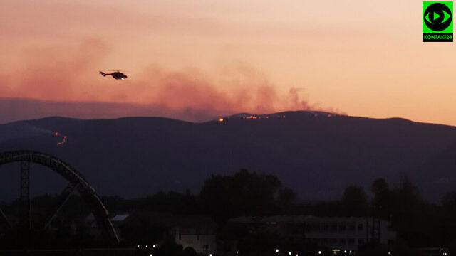 Pożar na greckiej wyspie. Ewakuacja mieszkańców i turystów