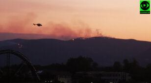 Pożar na greckiej wyspie Zakintos. Ewakuacja turystów